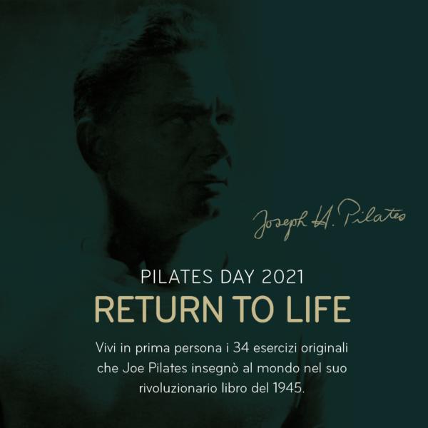 Joe Pilates Return To Life Pilates Day